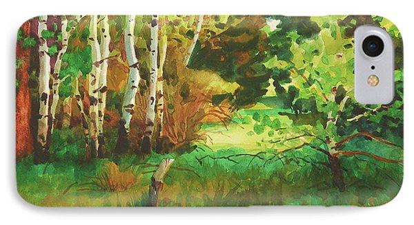 Duck iPhone 7 Case - Mallard Grove by Steve Henderson