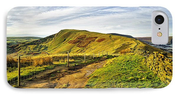 Mam Tor IPhone Case by Nichola Denny