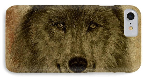 Mama Wolf Fresco IPhone Case