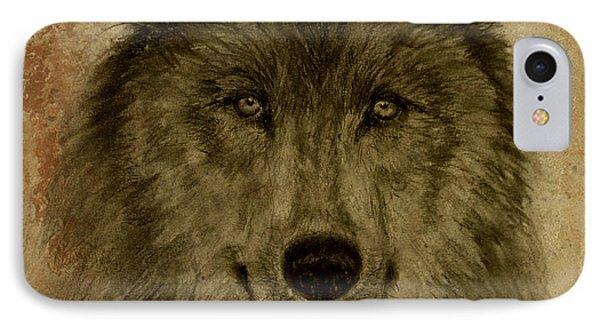 Mama Wolf Fresco IPhone Case
