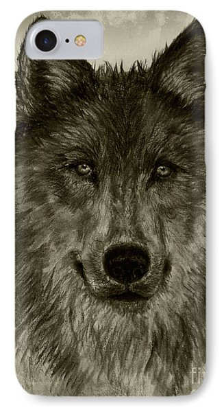 Mama Wolf Vintage IPhone Case