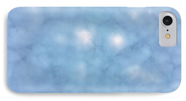 Mammatus Clouds Forming Phone Case by Angela A Stanton