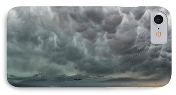 Mammatus Over Montata IPhone Case by Ryan Crouse