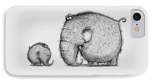 Mammothz IPhone Case by Andy Catling