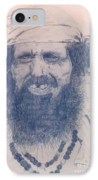 Man From Madigascar Phone Case by Ron Bissett
