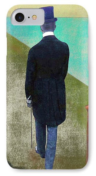 Man In Hat IPhone Case