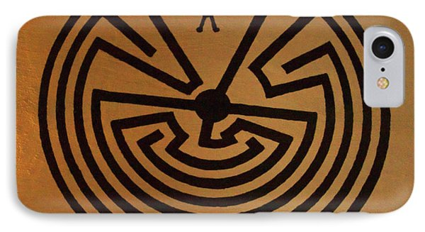 Man In Maze IPhone Case