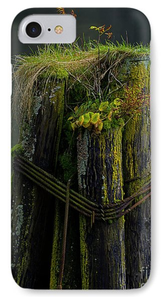 Man Made Island-signed-#2127 IPhone Case by J L Woody Wooden