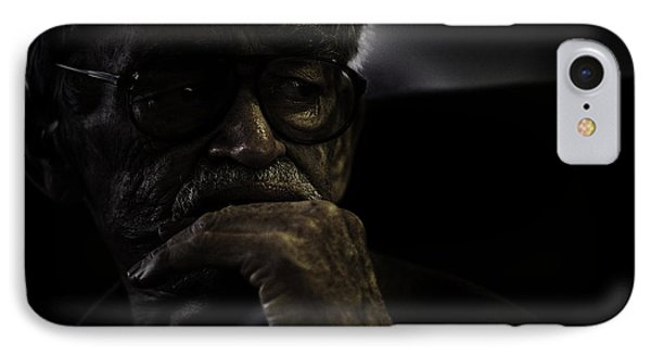 Man On Ferry Phone Case by Avalon Fine Art Photography