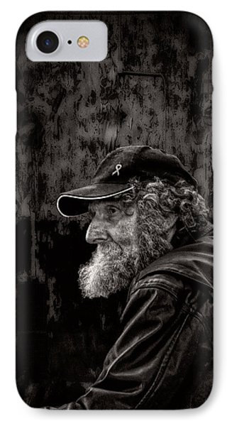 Man With A Beard IPhone Case by Bob Orsillo