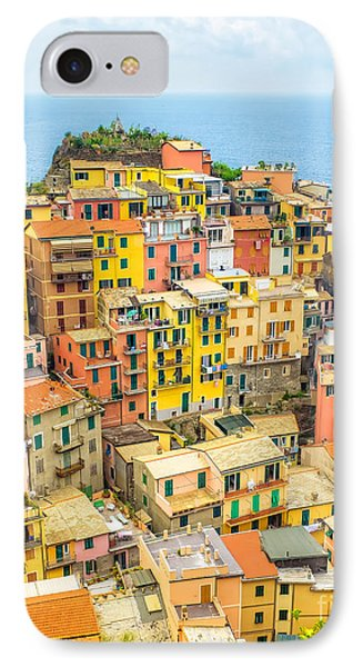 Manarola Cinque Terra City IPhone Case
