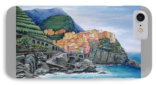 Manarola Cinque Terre Italy IPhone Case