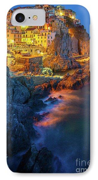 Manarola Lights Phone Case by Inge Johnsson