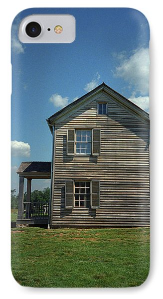 IPhone Case featuring the photograph Manassas Battlefield Farmhouse by Frank Romeo