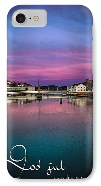 Mandal Julekort IPhone Case by Mirra Photography