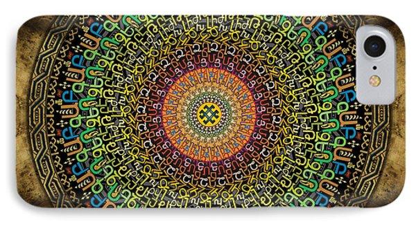 Mandala Armenian Alphabet IPhone Case