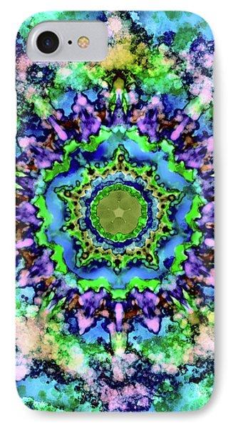 Mandala Art 1 IPhone Case by Patricia Lintner
