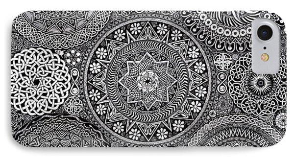 Mandala Bouquet IPhone 7 Case