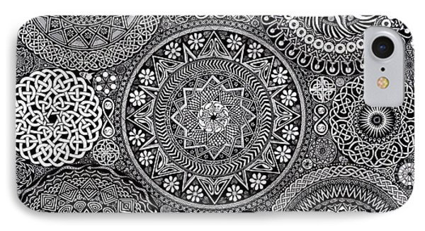 Mandala Bouquet IPhone Case