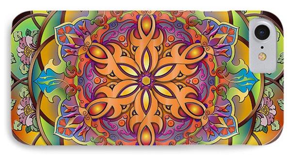 Mandala Exotica IPhone Case
