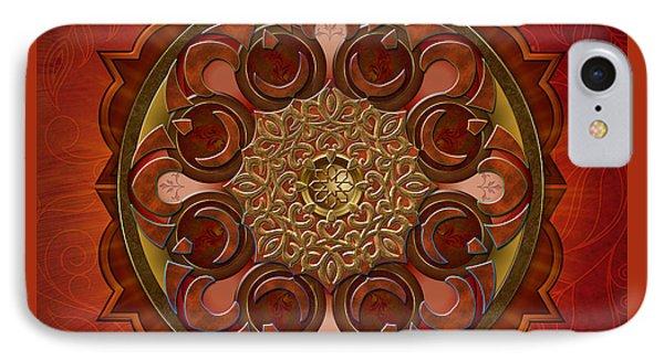 Mandala Flames IPhone Case