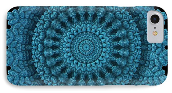 IPhone Case featuring the digital art Mandala For The Masses by Lyle Hatch