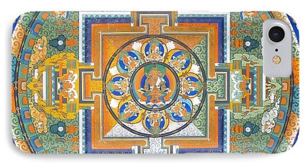 Mandala From Lhasa IPhone Case by Birgit Moldenhauer