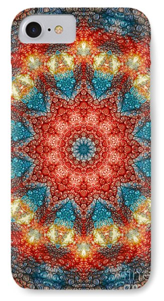 Mandala Abstract - Birth Of A Sun IPhone Case