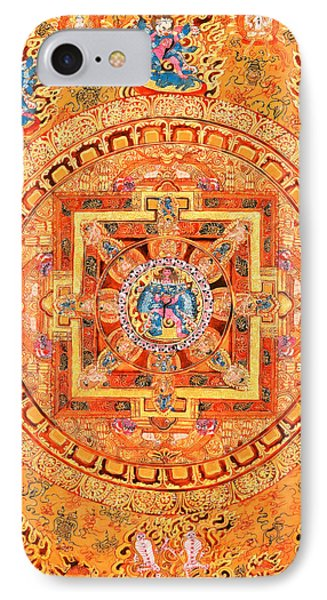 Mandala Of Heruka In Yab Yum IPhone Case by Lanjee Chee