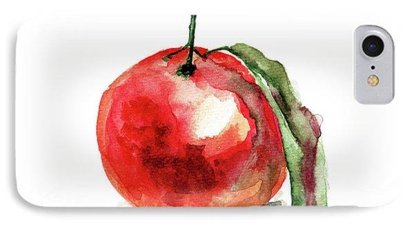 Mandarin Fruits IPhone Case