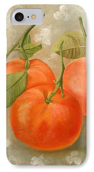 Mandarins IPhone Case by Angeles M Pomata