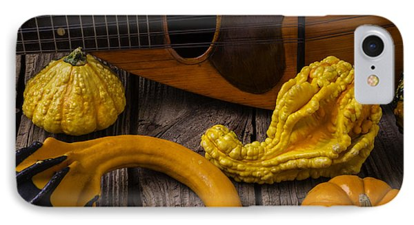 Mandolin And Gourds IPhone Case by Garry Gay