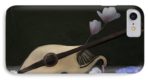 Mandolin IPhone Case by Ellerslie Art
