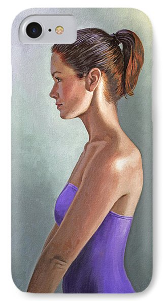 Mandy-profile IPhone Case