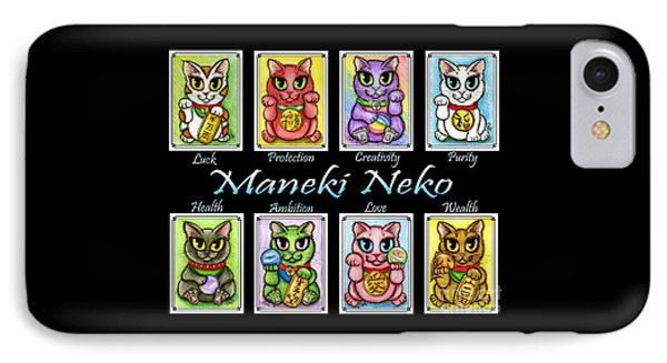 Maneki Neko Luck Cats IPhone Case
