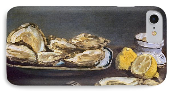 Manet: Oysters, 1862 Phone Case by Granger