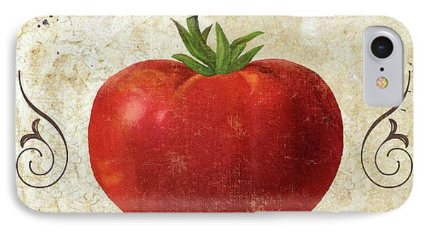 Mangia Tomato IPhone Case by Mindy Sommers