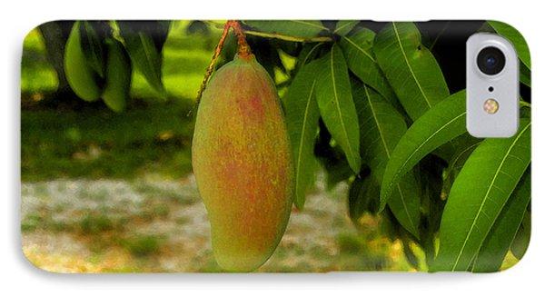 Mango Work Number One Phone Case by David Lee Thompson