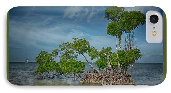 Mangrove Island IPhone Case by Mitch Spence