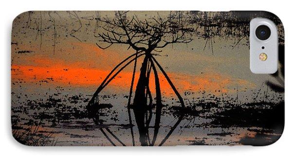 Mangrove Silhouette Phone Case by David Lee Thompson