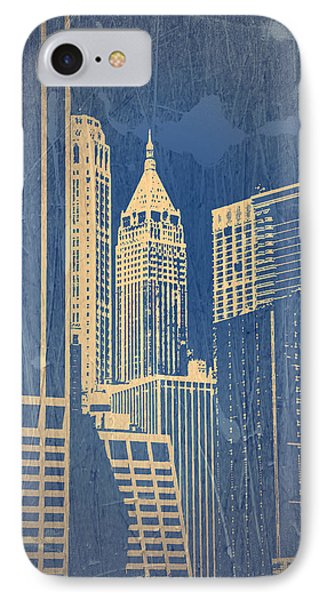 Manhattan 1 IPhone Case by Naxart Studio