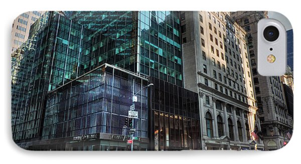 IPhone Case featuring the photograph Manhattan - 5th Ave. 002 by Lance Vaughn