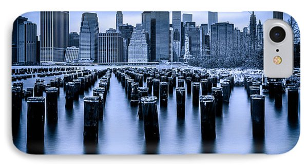 IPhone Case featuring the photograph Manhattan Blues by Chris Lord