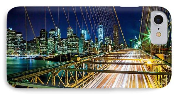 Manhattan Bound IPhone Case by Az Jackson