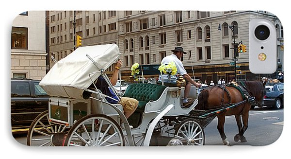 Manhattan Buggy Ride IPhone Case by Madeline Ellis