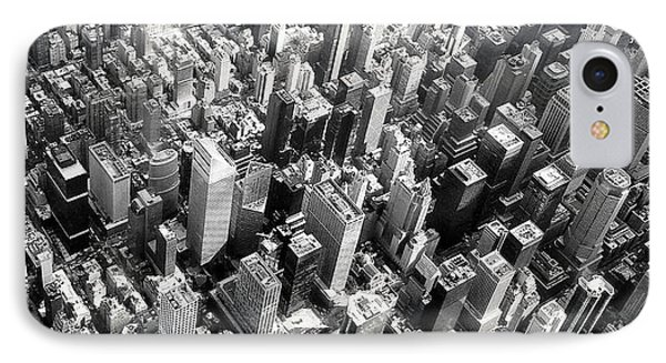 IPhone Case featuring the photograph Manhattan  by Chris Fraser
