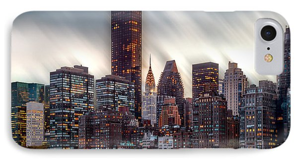 Chrysler Building iPhone 7 Case - Manhattan Daze by Az Jackson