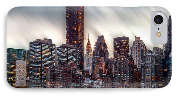 Manhattan Daze IPhone 7 Case by Az Jackson