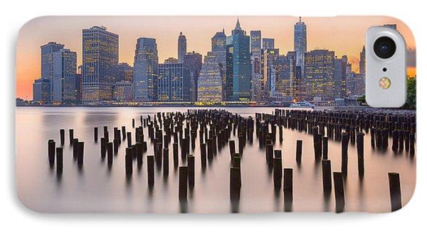 Manhattan Dusk IPhone Case