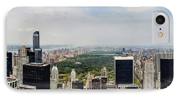 Manhattan Haze IPhone Case by Az Jackson